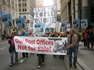Rally against Berkeley, California's post office closure