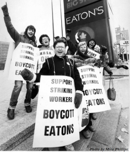 Eatons-Picketline
