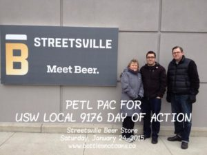 ETFO Peel members at Streetsville