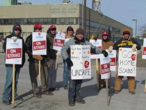 Unifor Local 672 on strike