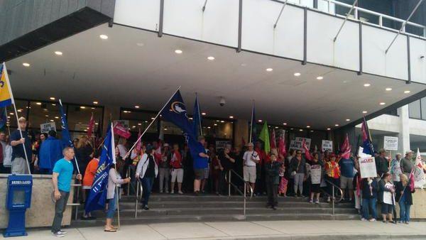 Fighting austerity in London, Ontario