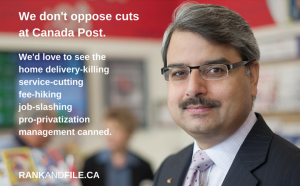 rf meme - canada post cuts