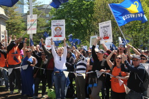 OSSTF rally