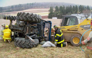 Tractor-roll-over