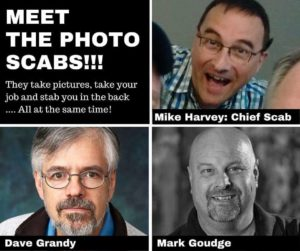 Meet the scabs who are working as photographers for Halifax's Chronicle Herald during the strike.