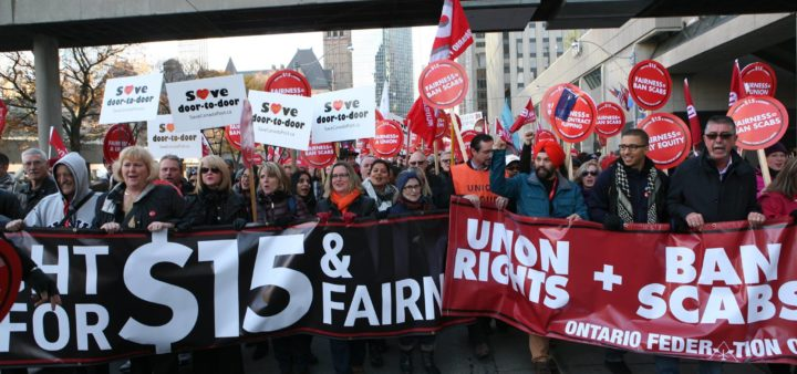 The OFL joins the Fight for $15 and Fairness