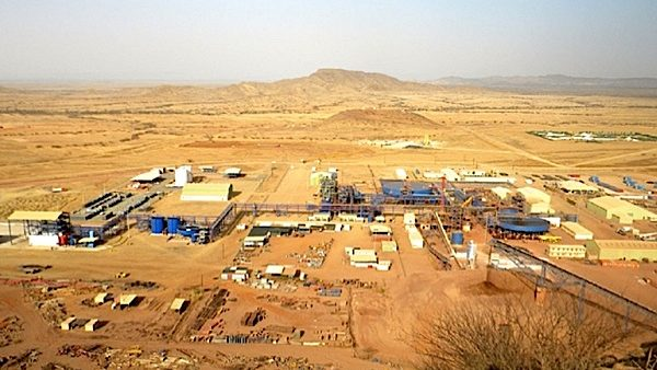 A Nevsun Resources' gold and copper mine in Eritrea.