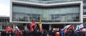 Hamilton rally for CH workers, February 29 2016