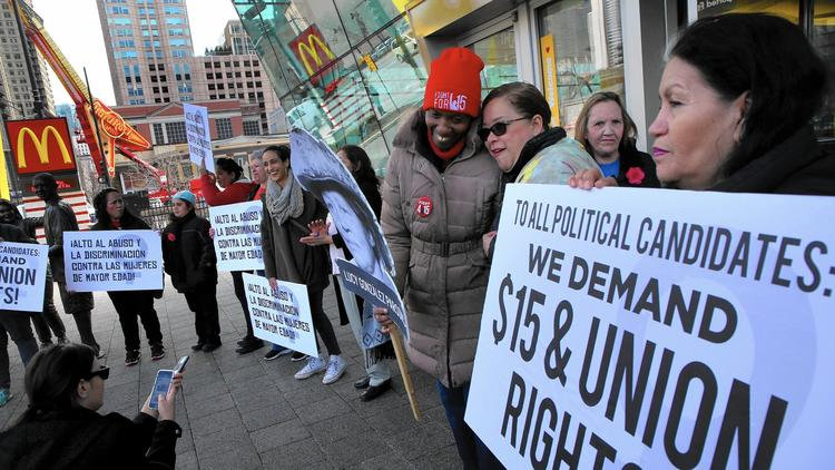 Chicago's Fight for $15 campaign is also joining the April 1 strike