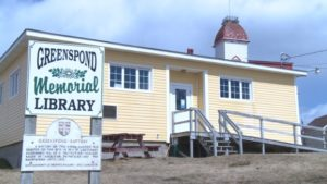 One of the 54 Newfoundland and Labrador libraries slated for closure.