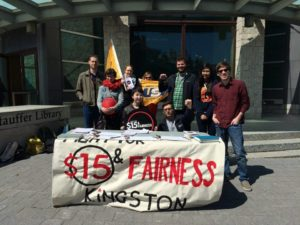 Kingston $15 and Fairness action on April 15 2016
