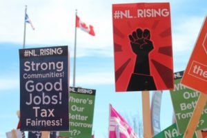 NL Rising protests from this spring against budget cuts and tax hikes