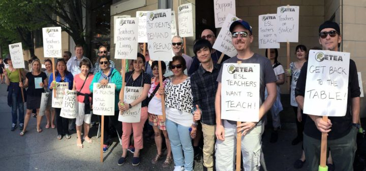 Private schools hoard profits: Picket pay an upgrade for striking instructors