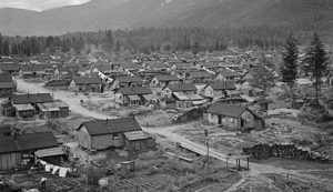 Japanese-Canadian internment camp.