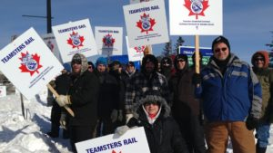 teamsters-on-strike