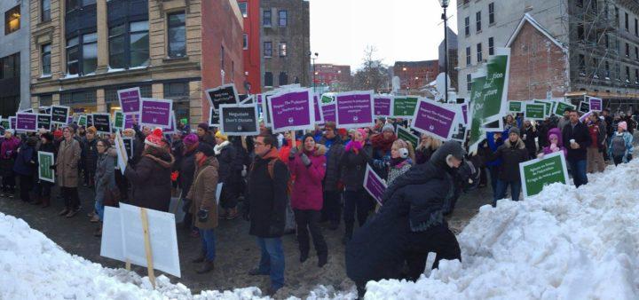 Striking Nova Scotia Teachers are making history