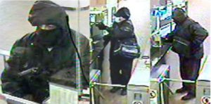 A 2012 armed robbery at a TTC fare collector booth. The worker was shot in the neck and shoulder and is still on disability five years later. The suspect is at large.