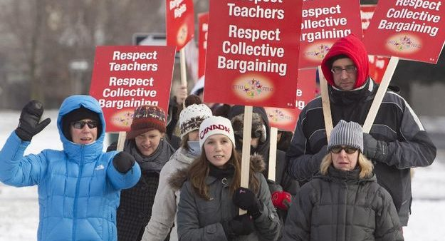 Why the NDP should be stumping for unions and collective bargaining